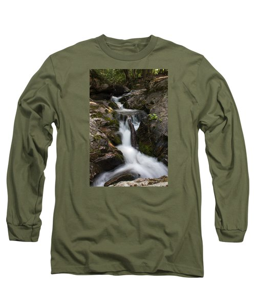 Upper Pup Creek Falls Long Sleeve T-Shirt
