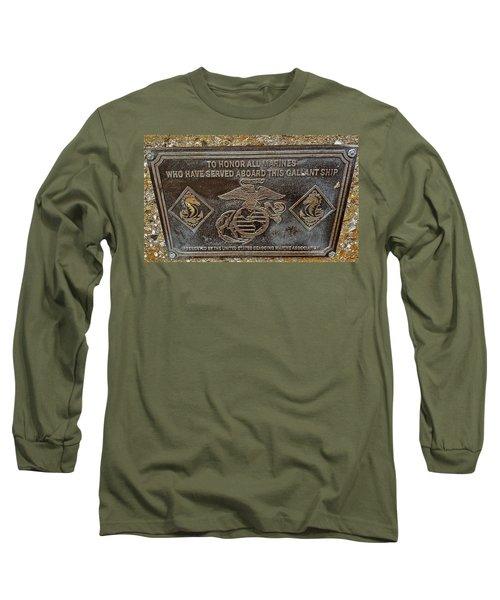 Long Sleeve T-Shirt featuring the photograph U.s.s. San Francisco Memorial Land's End by Bill Owen