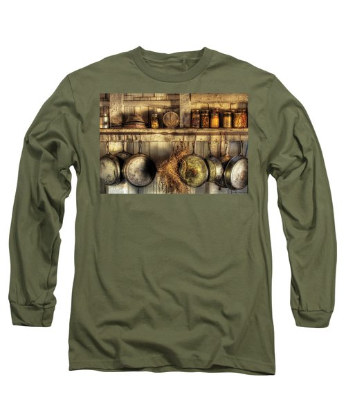 Utensils - Old Country Kitchen Long Sleeve T-Shirt