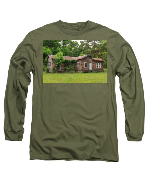 Vacant Rural Home Long Sleeve T-Shirt