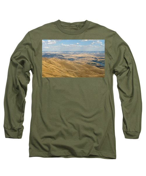 Long Sleeve T-Shirt featuring the photograph Valley View by Mark Greenberg