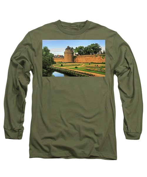 Long Sleeve T-Shirt featuring the photograph Vannes In Brittany France by Dave Mills
