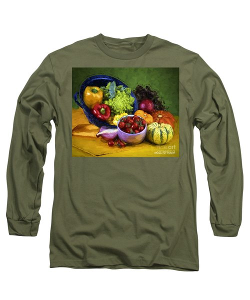 Veggie Bowl  Long Sleeve T-Shirt