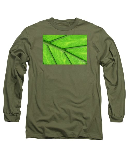 Long Sleeve T-Shirt featuring the photograph Veins Of Life by Judy Whitton