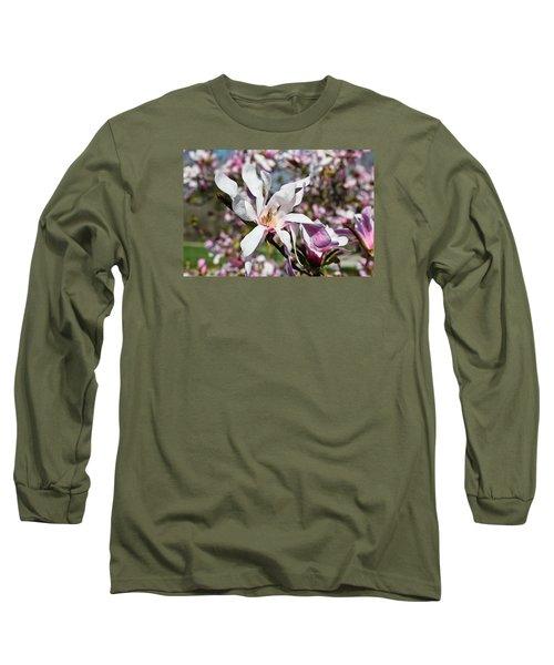 Velvet Long Sleeve T-Shirt by Julie Andel