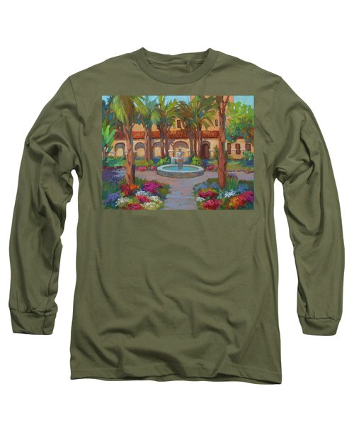 Ventura Mission Long Sleeve T-Shirt by Diane McClary