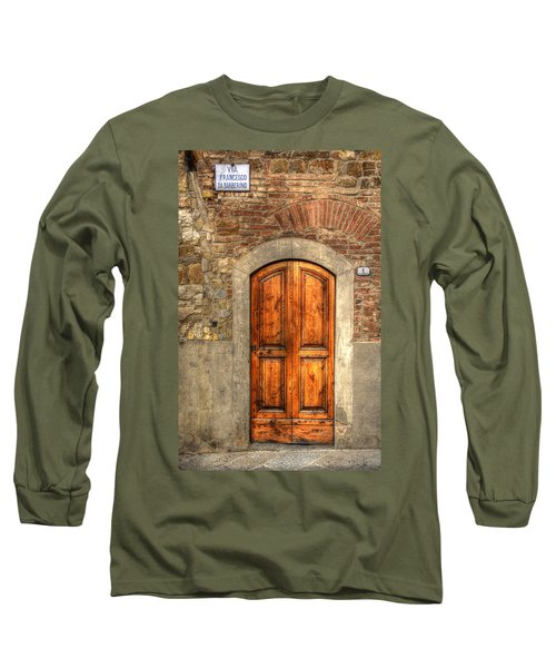 Via Francesco Long Sleeve T-Shirt