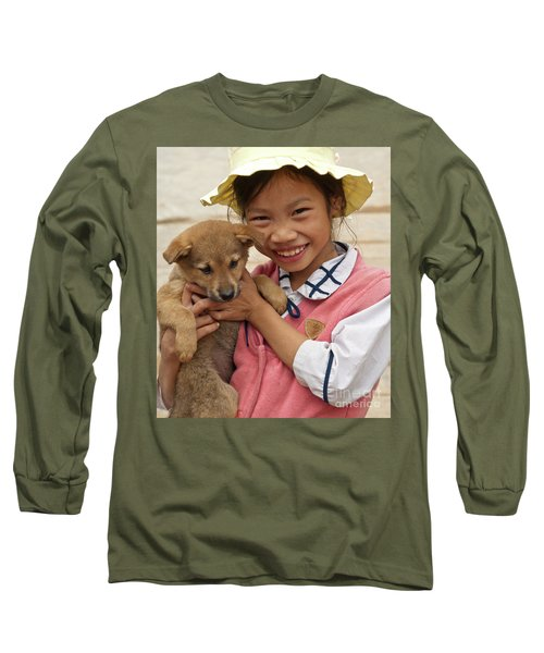 Vietnamese Girl 02 Long Sleeve T-Shirt
