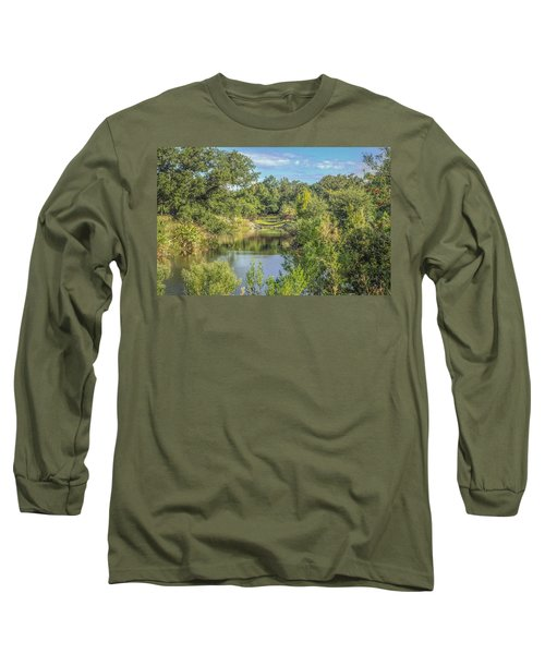 View Down The Creek Long Sleeve T-Shirt