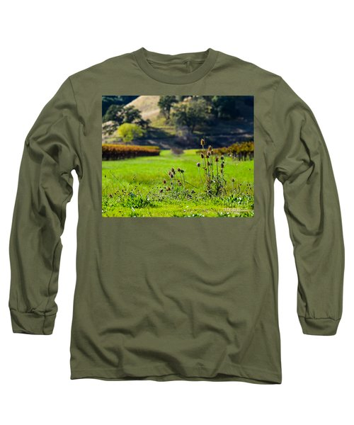 Vineyard Thistles Long Sleeve T-Shirt