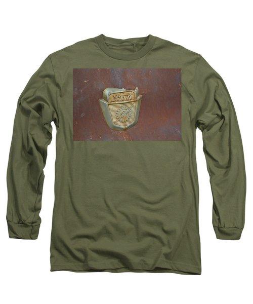 Vintage Badge Long Sleeve T-Shirt