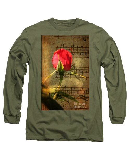 Long Sleeve T-Shirt featuring the photograph Vintage Love Story Symphony by Judy Palkimas