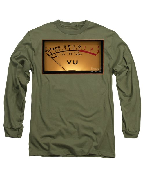 Vu Meter Illuminated Long Sleeve T-Shirt