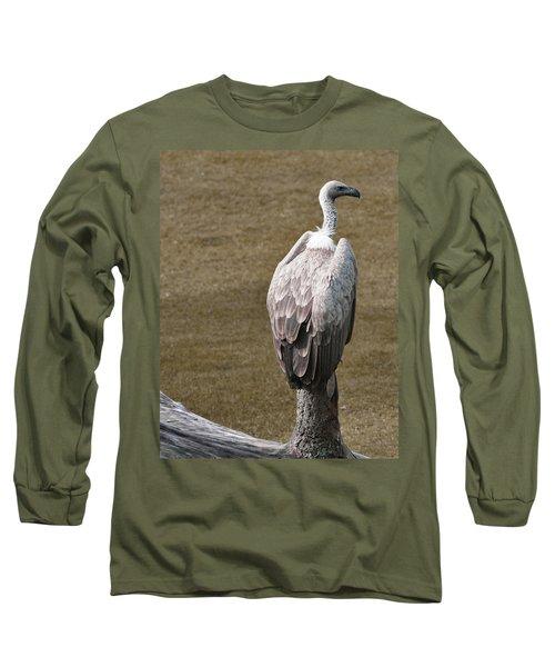 Vulture On Guard Long Sleeve T-Shirt