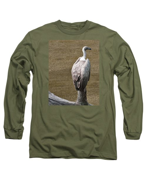 Vulture On Guard Long Sleeve T-Shirt