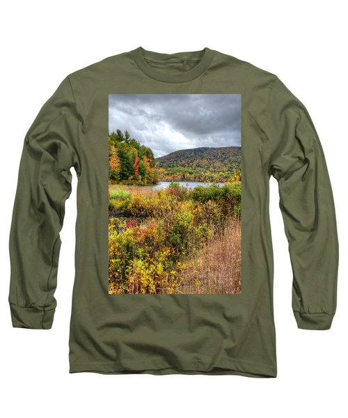 Wachusett Mt. In Autumn Long Sleeve T-Shirt