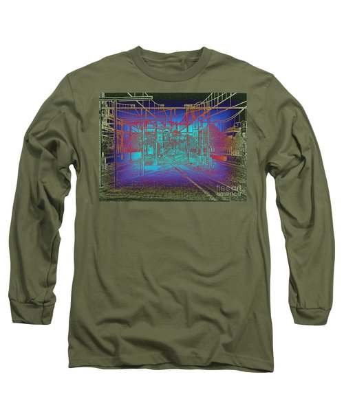 Waiting At Gouda Station Long Sleeve T-Shirt
