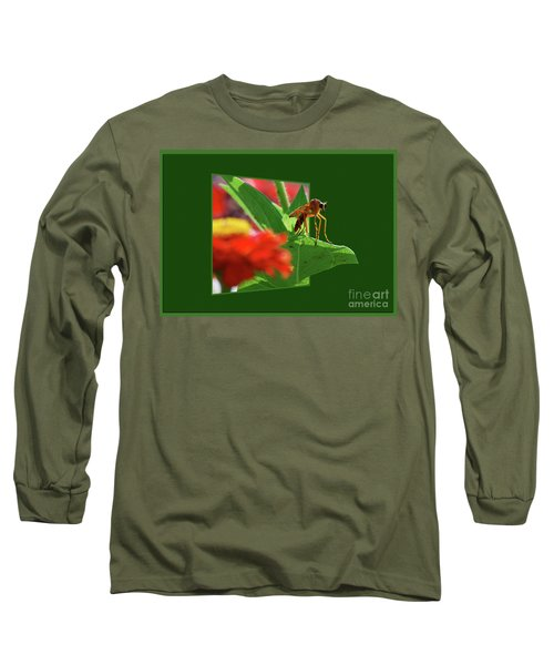 Long Sleeve T-Shirt featuring the photograph Waiting For A Date by Thomas Woolworth