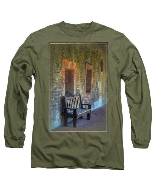 Waiting Long Sleeve T-Shirt by Joan Carroll
