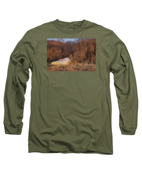 Long Sleeve T-Shirt featuring the photograph Waiting On Spring by Joan Davis