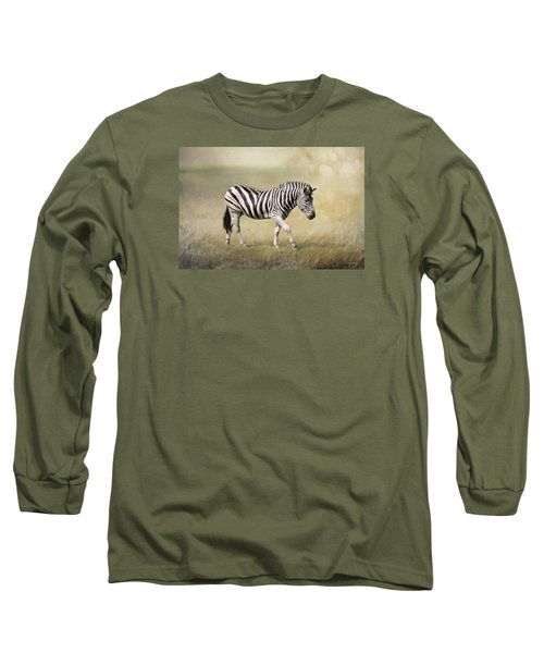 Walking With The Sun Long Sleeve T-Shirt