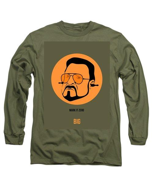 Walter Sobchak Poster 1 Long Sleeve T-Shirt