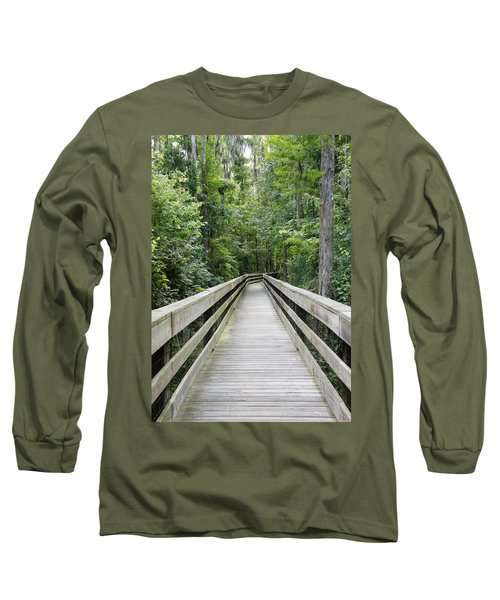 Long Sleeve T-Shirt featuring the photograph Wander by Laurie Perry