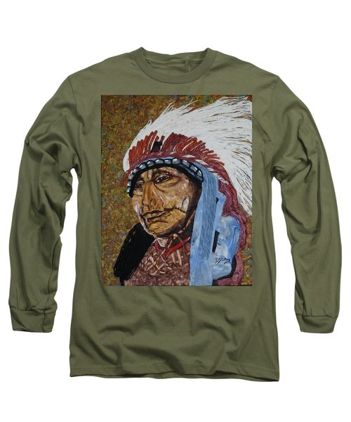 Warrior Chief Long Sleeve T-Shirt