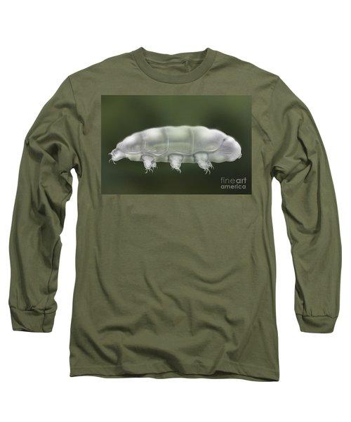 Water Bear Tardigrada - Waterbear Tardigrade  - Scientific Illustration Long Sleeve T-Shirt