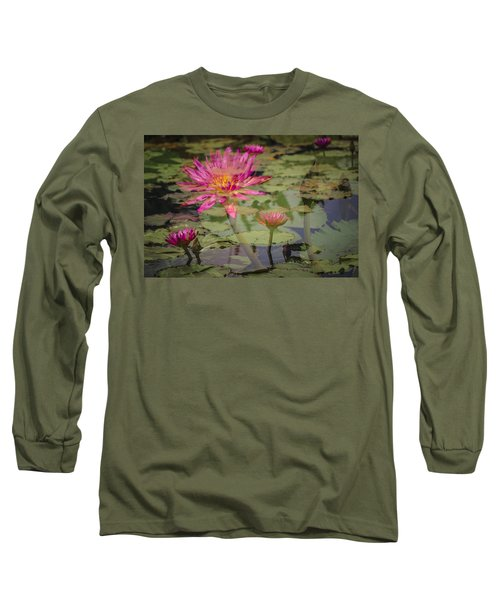 Water Garden Dream Long Sleeve T-Shirt