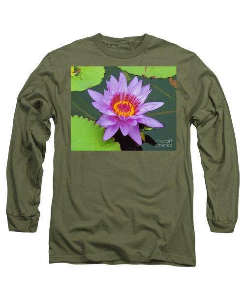 Water Lilies 005 Long Sleeve T-Shirt