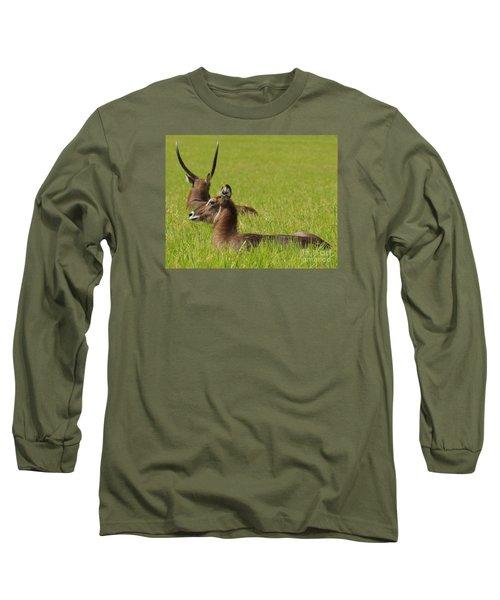 Waterbuck Antelope Long Sleeve T-Shirt