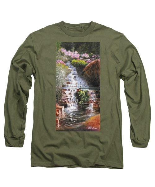 Waterfall Garden Long Sleeve T-Shirt