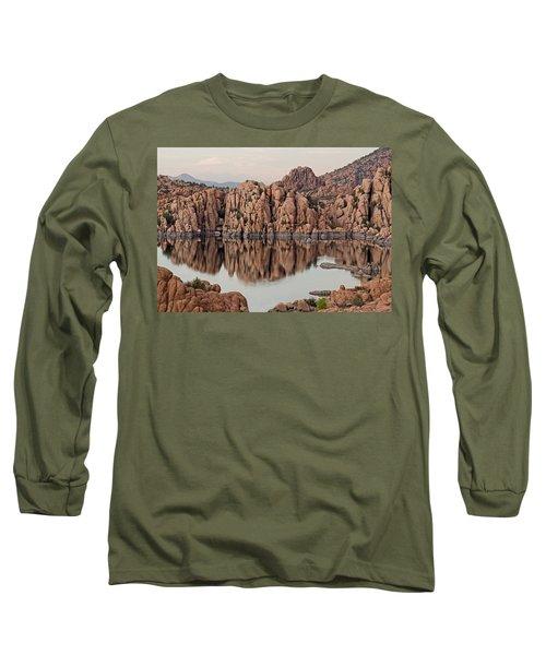 Watson Lake Tranquility Long Sleeve T-Shirt