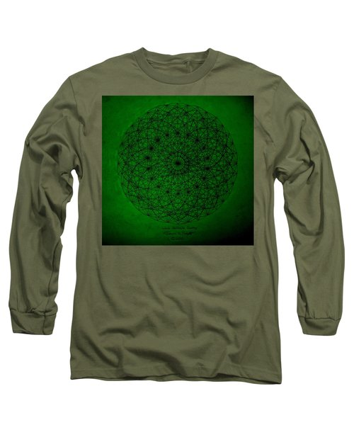 Wave Particle Duality II Long Sleeve T-Shirt