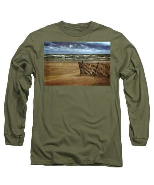 Waves And Clouds  Long Sleeve T-Shirt