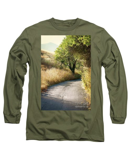 Long Sleeve T-Shirt featuring the photograph We Will Walk This Path Together by Ellen Cotton