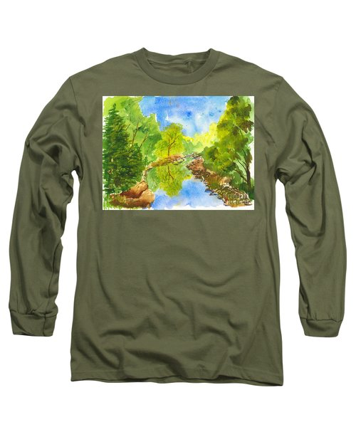 Weber River Reflection Long Sleeve T-Shirt