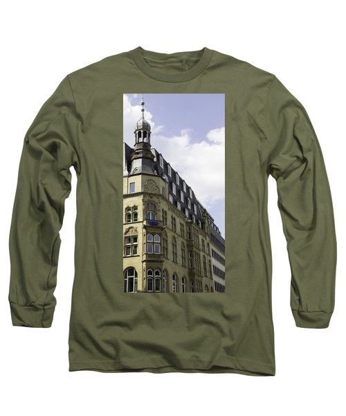 West German Broadcasting Cologne Germany Long Sleeve T-Shirt