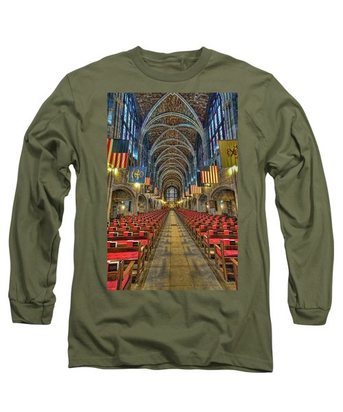 West Point Cadet Chapel Long Sleeve T-Shirt