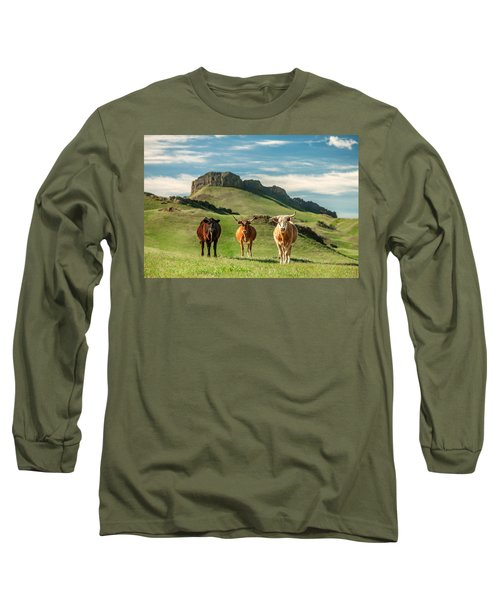 Western Longhorns Long Sleeve T-Shirt