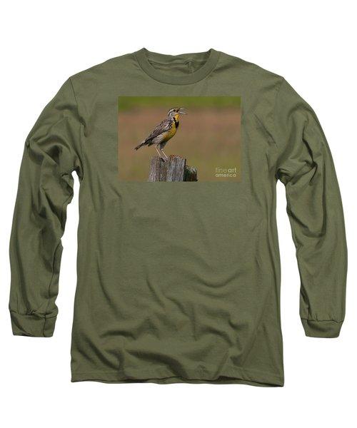Western Meadowlark.. Long Sleeve T-Shirt