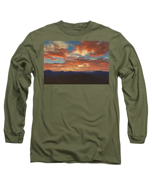 Western Sunset Long Sleeve T-Shirt