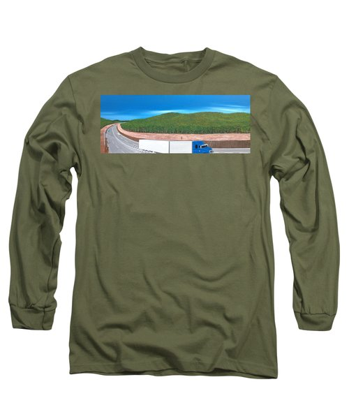 What Happened To My Homeland Long Sleeve T-Shirt by Tim Mullaney