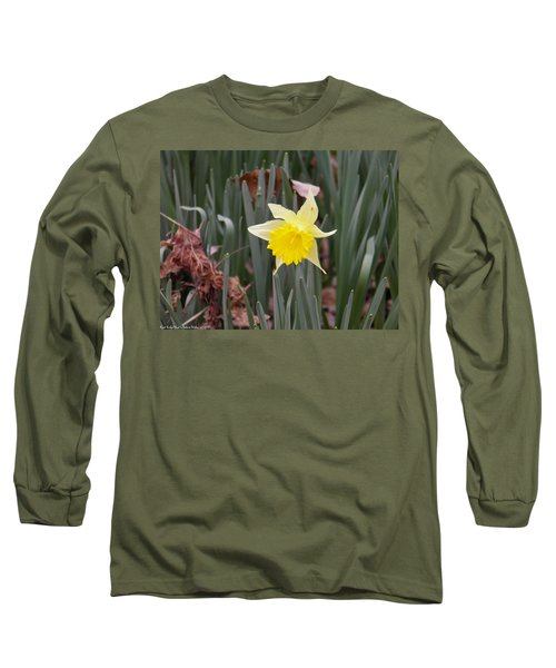 Long Sleeve T-Shirt featuring the photograph Whats Up Buttercup by Nick Kirby