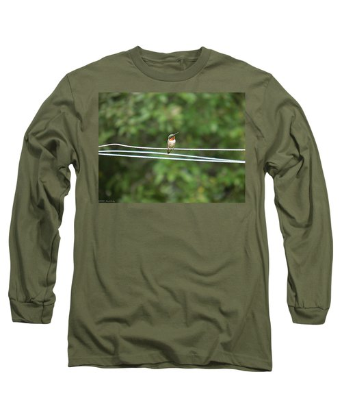 Whats You Talkin Bout  Long Sleeve T-Shirt by Nick Kirby