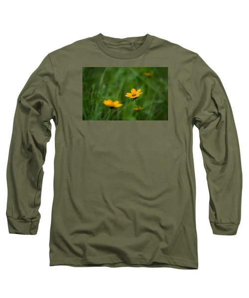 Wild And Free Long Sleeve T-Shirt by Shelby  Young
