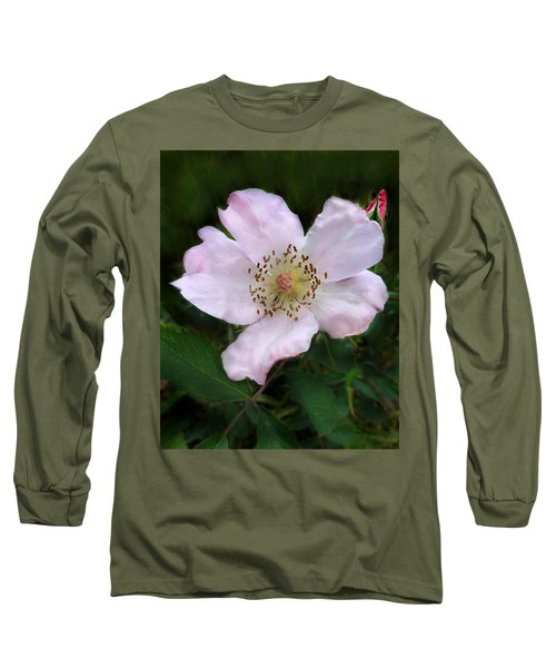 Wild Carolina Rose Long Sleeve T-Shirt