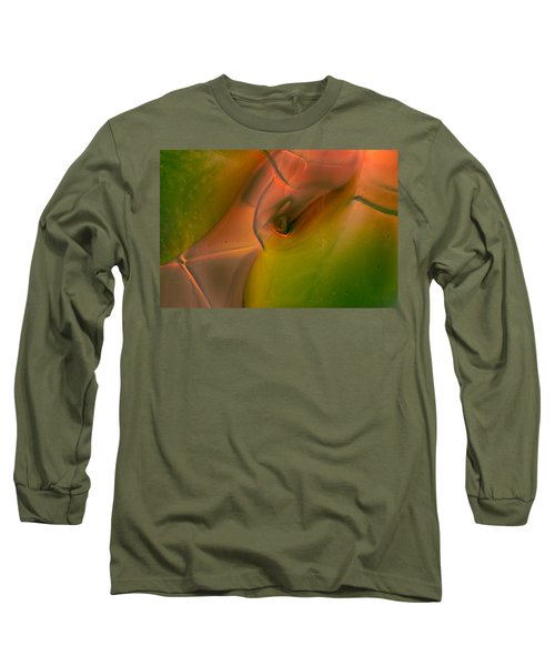 Long Sleeve T-Shirt featuring the photograph Wild Eyes by Omaste Witkowski