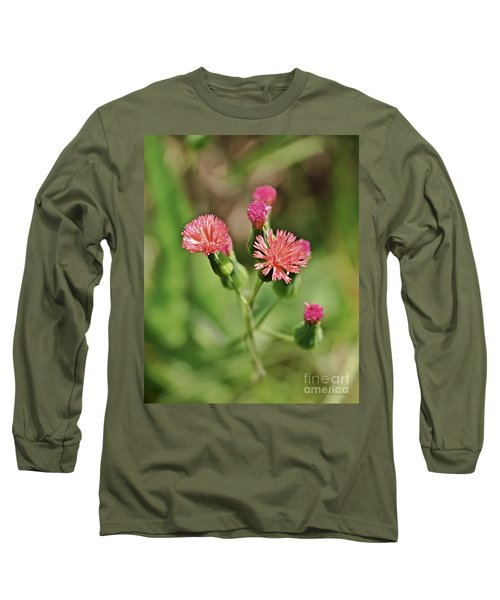 Long Sleeve T-Shirt featuring the photograph Wild Flower by Olga Hamilton